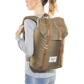 Herschel Retreat rugzak beige
